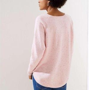 Loft Dolman Shirttail Sweater XS